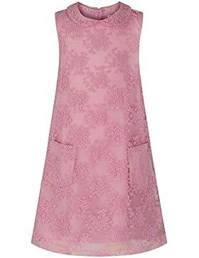 The Essential One – Baby Kinder Mädchen – Spitze A-Linie Kleid – Rosa - EOT161
