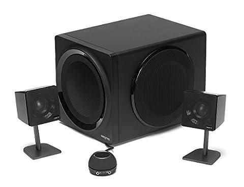 Creative Gigaworks T3 - Haut-parleurs Multimédia 2.1 Haute Performance - Caisson de basses - Noir