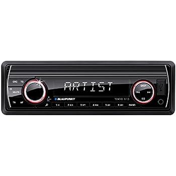 Car Multimedia Receivers Blaupunkt Tokyo 110 200W Black Car Multimedia Receiver AM,FM, Black, SD, 200 W, MP3,WMA