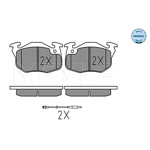 Meyle 025 209 0518/W Kit de plaquettes de frein, frein à disque