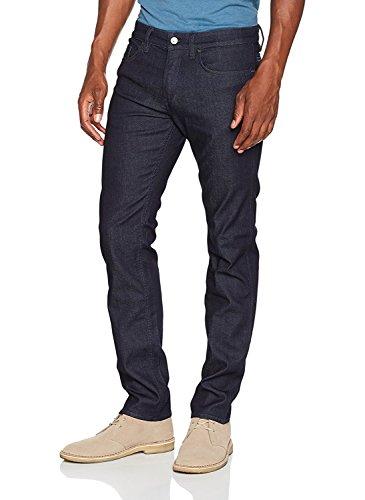 BOSS Athleisure Herren Straight Jeans Dunkelblau
