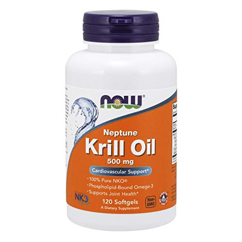 Now Foods, Neptune Krill Oil, 500 Mg, 120 Softgels