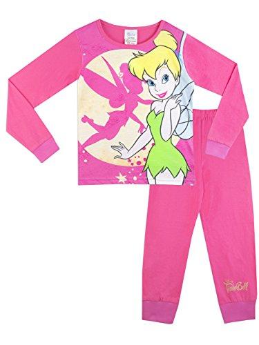 Tinker Bell Official, Conjuntos de Pijama para Niños, Multicolor, 2-3 Años