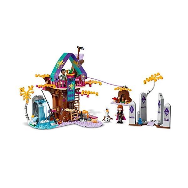 LEGO Frozen La Casa sull'albero Incantata 41164 Set di Costruzioni per Ricostruire la Magica Atmosfera di Frozen e… 3 spesavip