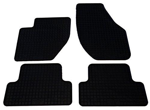 Fahrzeugmatten.de - Tappetini auto in gomma per V40 a partire dall'anno di produzione 2012, 4 pezzi