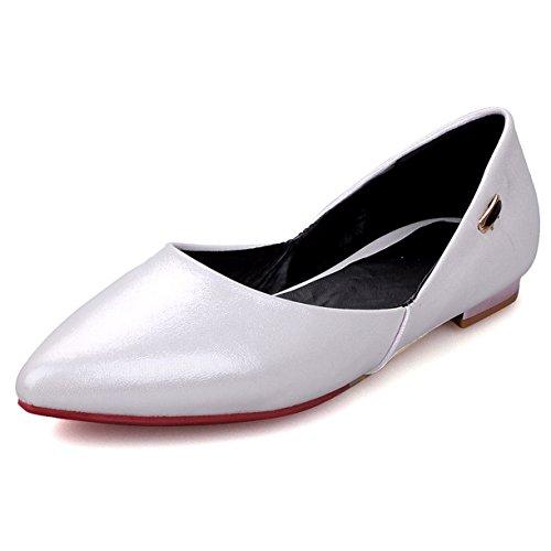 Fashion Heel - Ballet donna White