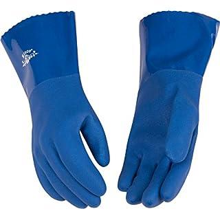 Kinco 7182W PVC Waterproof Women's Glove, Work (Pack of 12 Pairs)