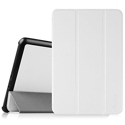 Fintie Samsung Galaxy Tab E 9.6 Funda - Súper Thin Ligero Case Funda Carcasa con Stand Función para Samsung Galaxy Tab E 9.6 Wi-Fi SM-T560 T565, Blanco