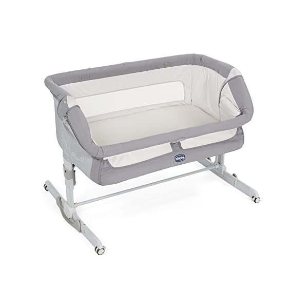 Chicco NEXT2ME Dream Crib - Graphite  The chicco next2me dream is the 3 in 1 solution and can be used as side-sleeping crib, as a stand-alone crib or as travel crib. Allows baby to sleep in your room for the first six months. 1-hand opening mechanism to easily change from side-sleeping to stand-alone configuration 2