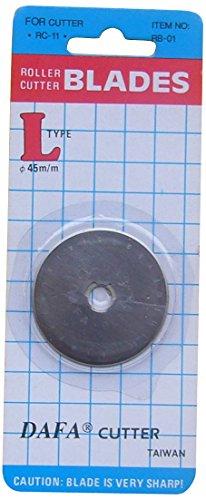 DAFA Klingen für Rollenschneider, 45 mm, silberfarben