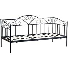 Metallbett schwarz 90x200  Suchergebnis auf Amazon.de für: metallbett 90x200