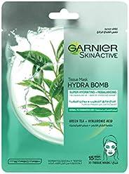 Garnier SkinActive Green Tea Hydrating Face Tissue Mask for Normal to Oily skin 28g