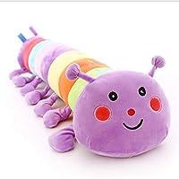 AOTE-D Plush Toy Caterpillar Soft Comfort Soft Filler Gift 90CM