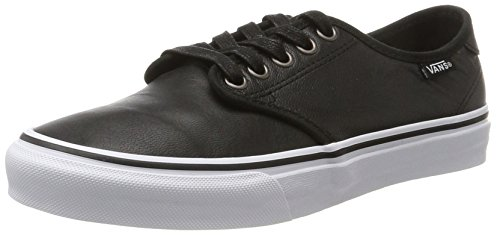 Vans Camden Deluxe, Scarpe Running Donna, Nero (Leather), 38 EU