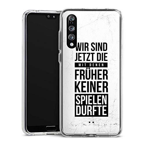 DeinDesign Huawei P20 Pro Handyhülle Bumper Case Schutzhülle Humor Fun Phrases