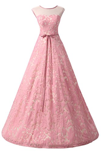 Missdressy - Robe - Trapèze - Femme Rose - Rose