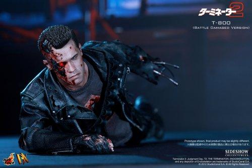 "[Movie Masterpiece DX] ""Terminator 2"" 1/6 scale figure T-800 (Battle Damage version) (second shipment) (japan import) 4"