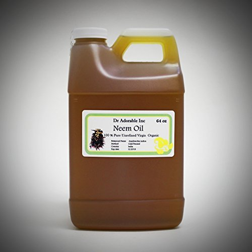 Neem Oil Organic Pure Pure 64 Oz / 2 Quarters