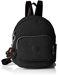Kipling - Mini Backpack, Mochilas Mujer, Black, 19x21.5x17 cm (W x H L)