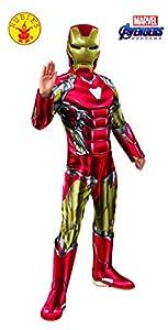 Rubies - Disfraz Oficial de Los Vengadores de Iron Man, Talla Mediana, Edad 5-7, Altura 132 cm
