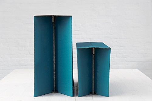 ROOM IN A BOX | MonKey Desk L/P: Faltbares ergonomisches Stehpult, praktischer Ständer für Laptop, PC, Tablet und Monitor, klappbarer Standing Desk für den Schreibtisch - 3
