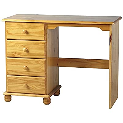 Dressing Table Solid Pine 4 Drawers Sol Bedroom Furniture produced by Sol - quick delivery from UK.