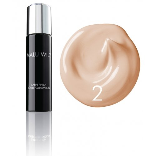 Malu Wilz Dekorative: Satin Finish Foundation liquide (30 ml): Malu Wilz Dekorative: Farbe: 02