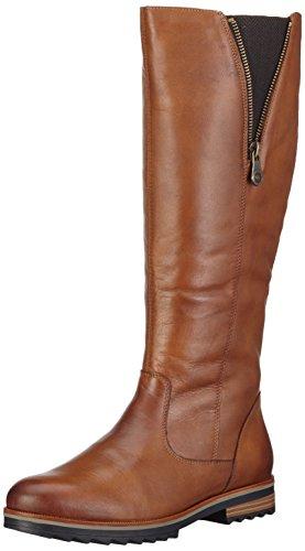 Braune Stiefel Frauen (Remonte R2277 Damen Langschaft Stiefel, Braun (chestnut/24), 38)