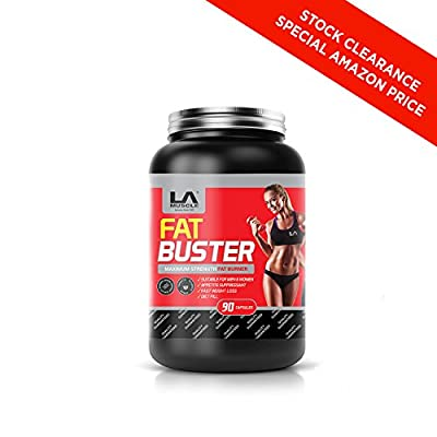LA Muscle Fat Buster: Amazing Quad-Action Natural & 100% Safe Fat Burner And Weight Loss Supplement For Men and Women. Melt That Fat Away, Ultra Fast Acting, Rapidly Absorbing, Works Better Then Garcinia Cambogia. Money Back Guarantee, Risk Free Purchase