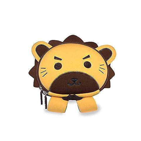 NohooHaha 3D Löwe Kinderrucksäcke für Kindergarten,Schule und Wandern,für 2-5 Jahre Mädchen und Jungen