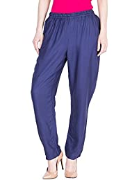 Dada Shopy Women Rayon Cotton Palazzo Pant Regular Fit