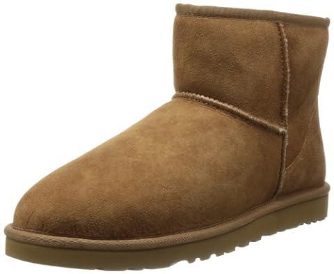 UGG Australia Mens Classic Mini Boot Chestnut Size 14