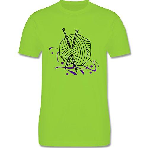 Statement Shirts - Stricken - Herren Premium T-Shirt Hellgrün
