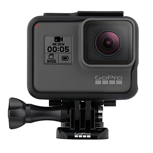 GoPro CHDHX-501 HERO5 Black Action Kamera (12 Megapixel) schwarz/grau (EU-Version)