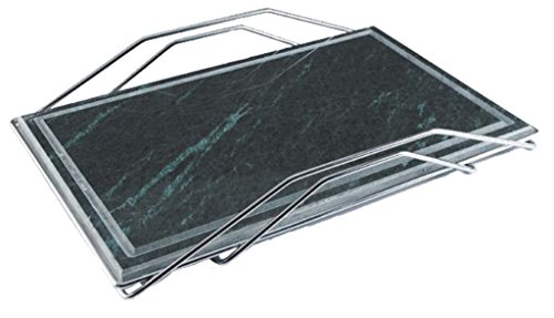 Dolcevita BBQ adpol Piedra para Asar para Barbacoa Parrilla, 480x 320mm, Acero