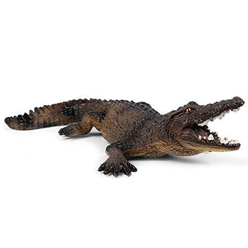 LVSSY-Wildtier Modell Simulation Krokodil Spielzeug Umweltfreundlich Statisch Statisch Modell Dekoration Krokodil Alligator -