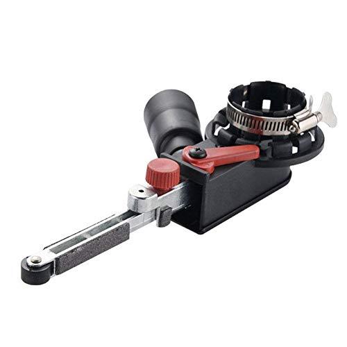 Reuvv Lijadora de Banda Lijado Cinturón Adaptador Accesorio para Eléctrico Amoladora de Ángulo Accesorios Doméstico Bricolaje Pulido Pulido