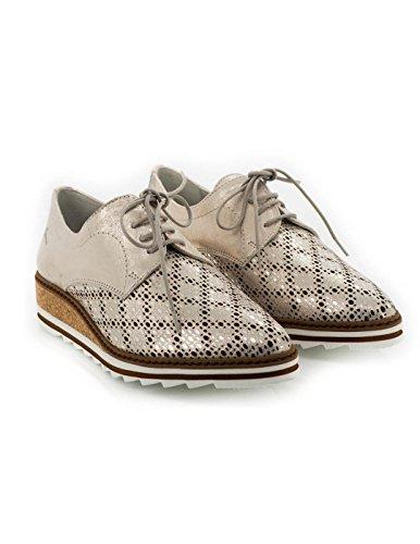 Chaussure Dorking Dorée peau 7152-MR Or