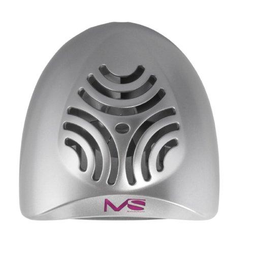 41NvXYMantL - MelodySusie Nail Dryer Portable Mini Fan Nail Lamp - Handy and Compact for Drying Regular Nail Polish Battery Operated (Silver)