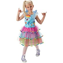 Rainbow Dash Deluxe - My Little Pony - Childrens Fancy Dress Costume - Small - 104cm - Age 3-4 by Rubies