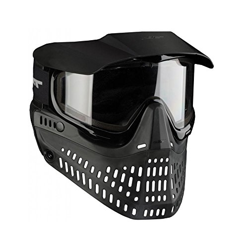 JT Spectra Proshield Thermo Paintball Maske, schwarz (Thermal Paintball-objektiv)