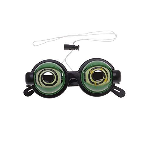 TOYANDONA Halloween Brille Neuheit Augen Lustige Augapfel Party Kostüm Zubehör Spielzeug Kinder Erwachsene (Rock Konzert Kostüm)