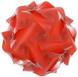 #10: Bliss Lighting 30 pcs Jigsaw Puzzel Decorative Diwali Lighting Lamp Red