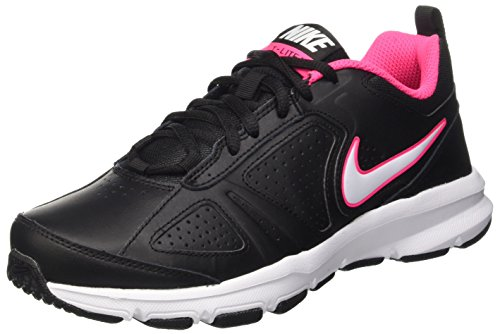 Nike Wmns T-Lite Xi, Scarpe Sportive Indoor Donna, Nero (Black/White/Hyper Pink/Hyper Pink), 38.5 EU