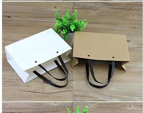 Einkaufstasche papier einkaufen große tragbare einfache rechteckige kunst geschenkbox geburtstag leere mode schön und langlebig dicke kapazität multifunktions -