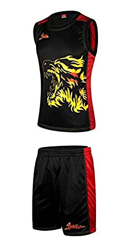 Adulte basketball masculin de formation Jersey et Shorts