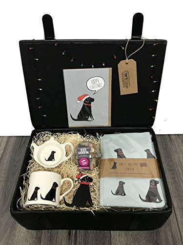Partridge Direct Luxury Hamper for Dog Lover and Pet (Black Labrador)