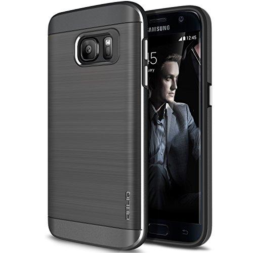 90abd538122 Coque Galaxy S7, OBLIQ [Slim Meta] [Titane Space Grey] Étui de
