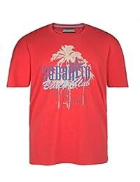 Camiseta Redfield en talla grande y color rojo