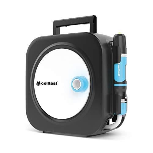 Cellfast Schlauchbox, Schlauchtrommel ERGO XS, funktionale, kompakt und wiederständig inklusive Schlauch 3/8